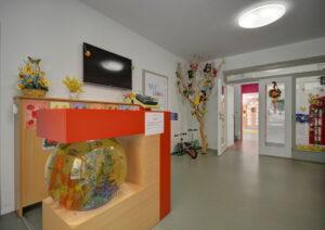 Royal kindergarten entrance hall